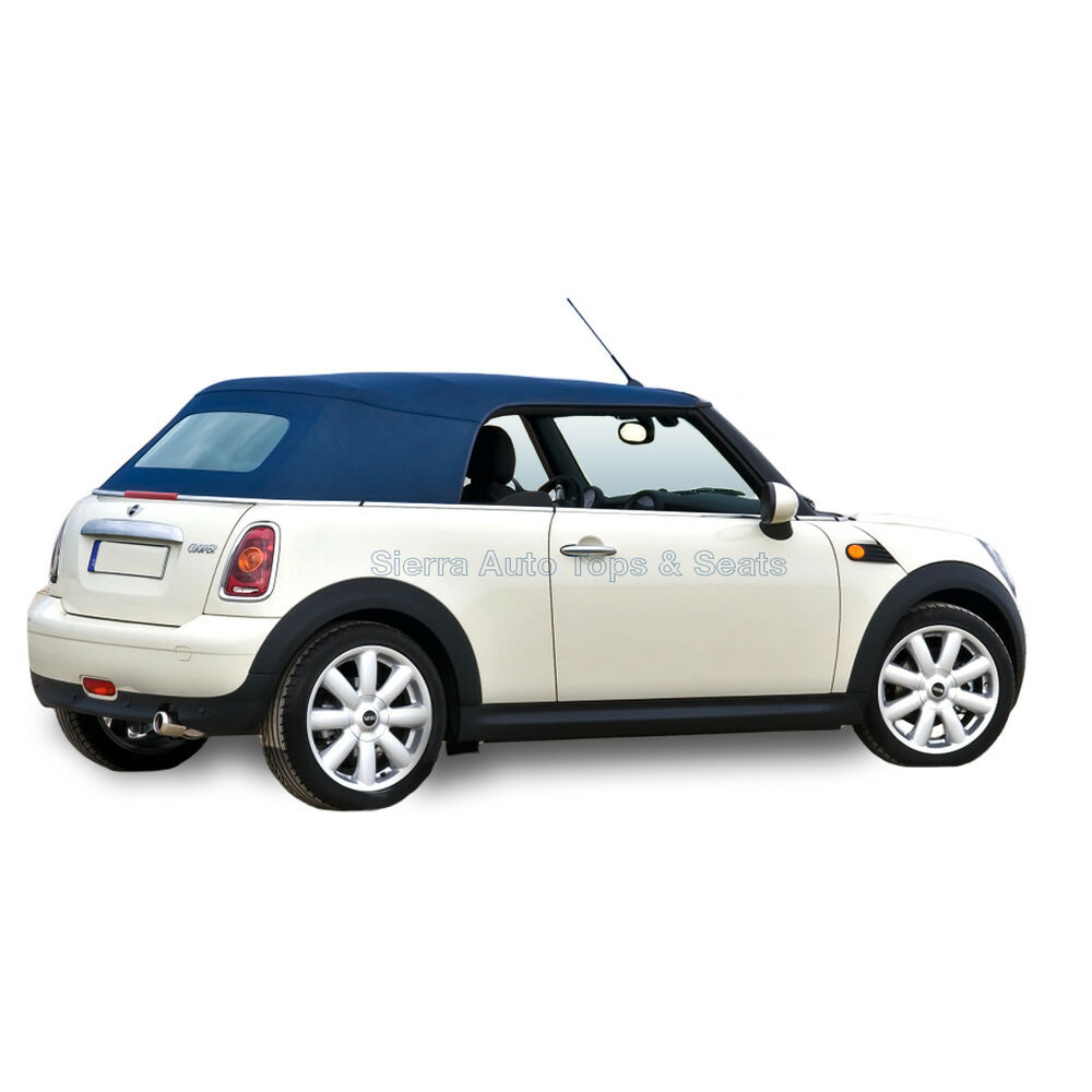 Mini Convertible: Mini Cooper Convertible Top In Blue OEM Twillfast RPC With
