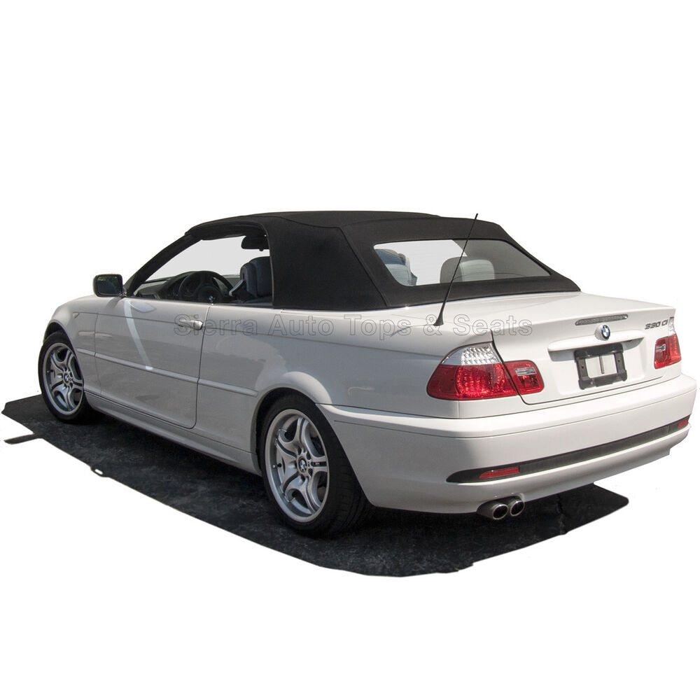 Bmw 3 Series Convertible Top 2000 06 In Black Rpc Acoustic