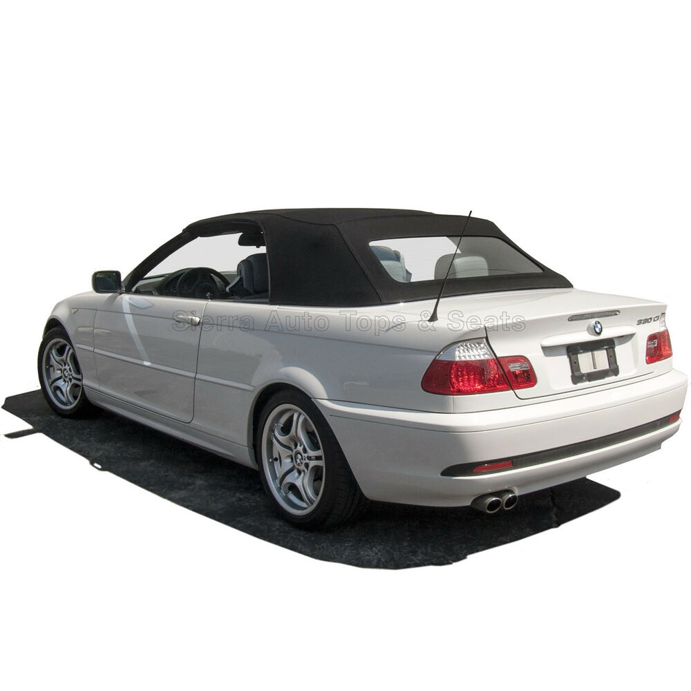 BMW 3-Series Convertible Top 2000-06 In Blue RPC Acoustic
