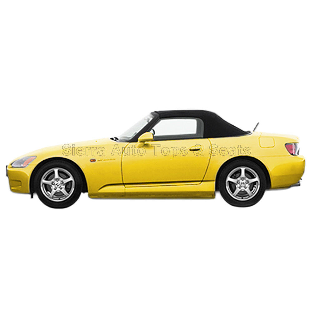 Honda S2000: Honda S2000 Convertible Top 00-01 In Black Stayfast With