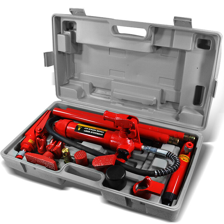 Hydraulic 4 Ton Body Frame Repair Kit Porta Power Tools