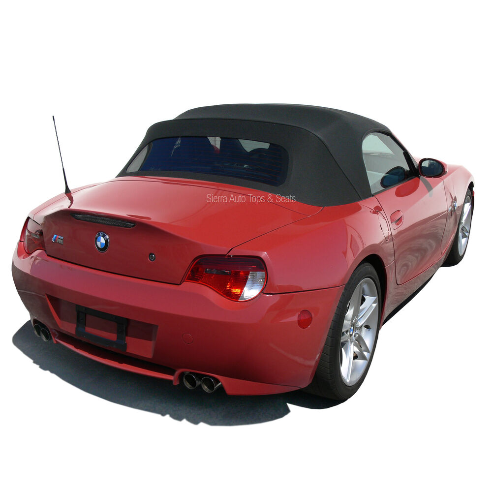 Bmw Z4 Convertible Top Haartz Black Twillfast Rpc W Glass