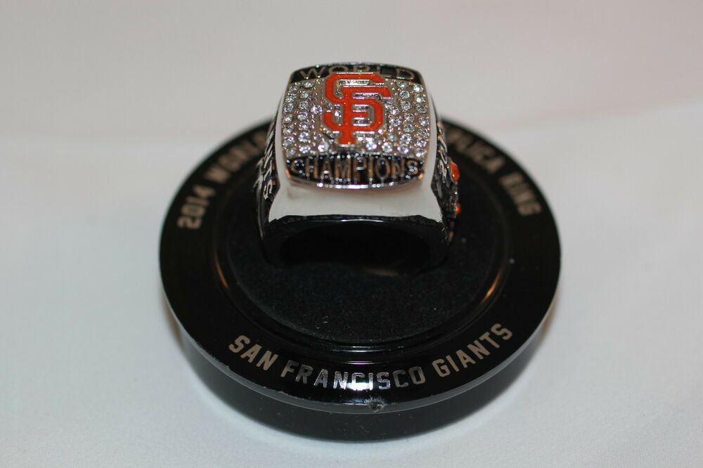 Giants World Series Ring
