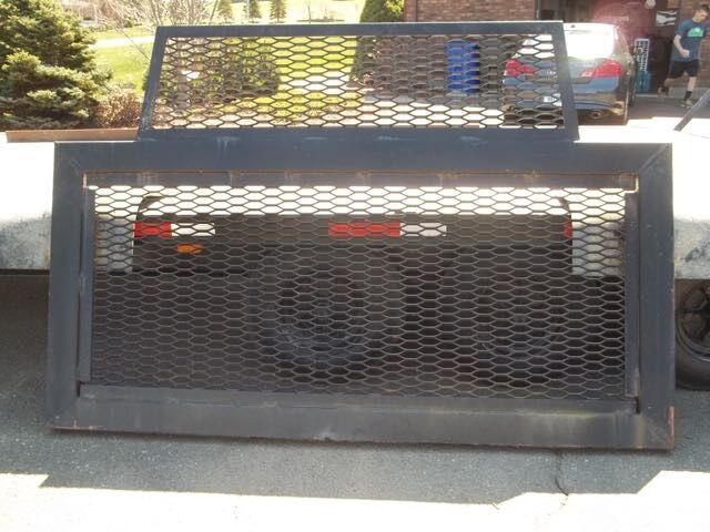 Truck Flatbed And Head Board Head Ache Rack 8 X 20 Ebay