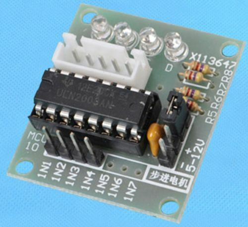 1pcs uln2003 stepper motor driver board for arduino avr for Raspberry pi stepper motor controller