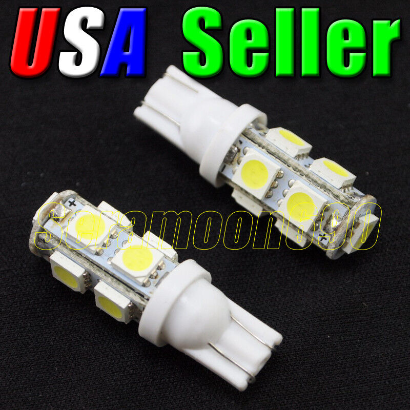 Brightest Led Bulb >> 12V Low Voltage T10 T5 Wedge Base Cool White LED Malibu Replacement Light Bulbs | eBay
