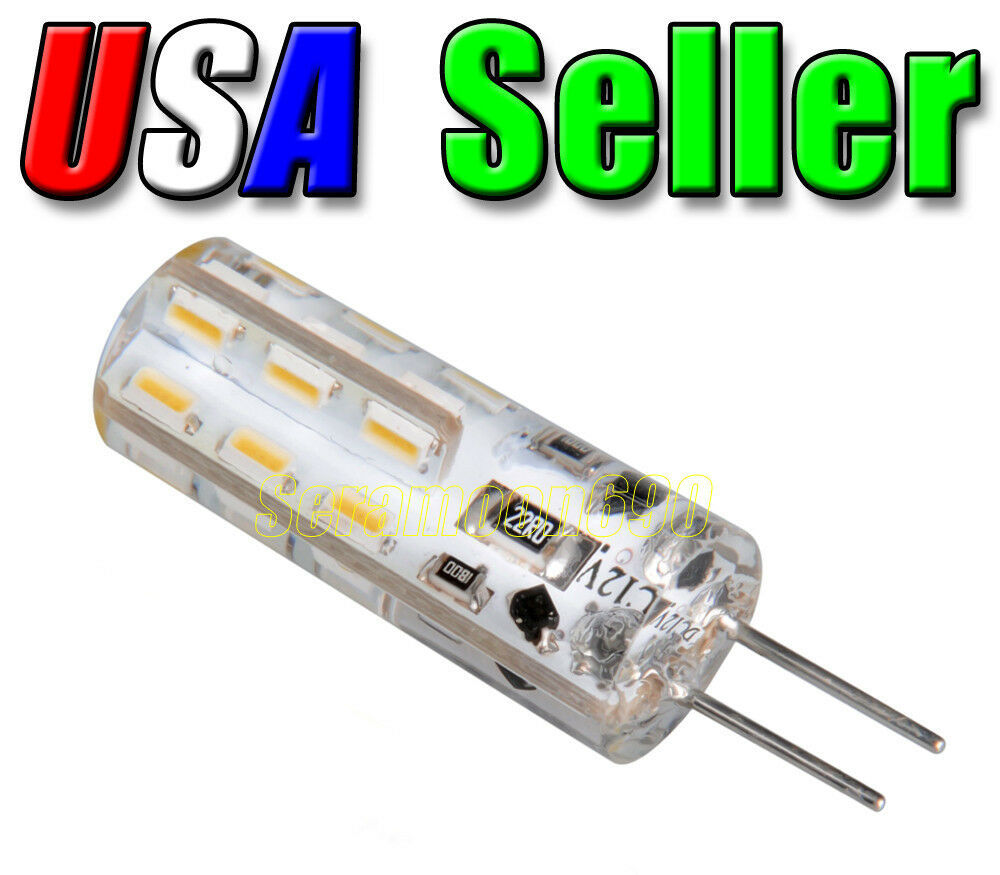 12v low voltage cool pure white g4 base led malibu for Led replacement bulbs for malibu landscape lights