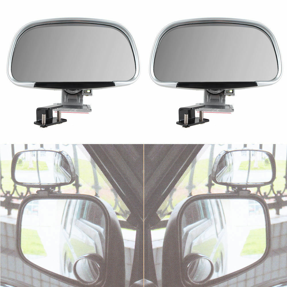 2x Universal Car Blind Spot Side Rear View Mirror Wide