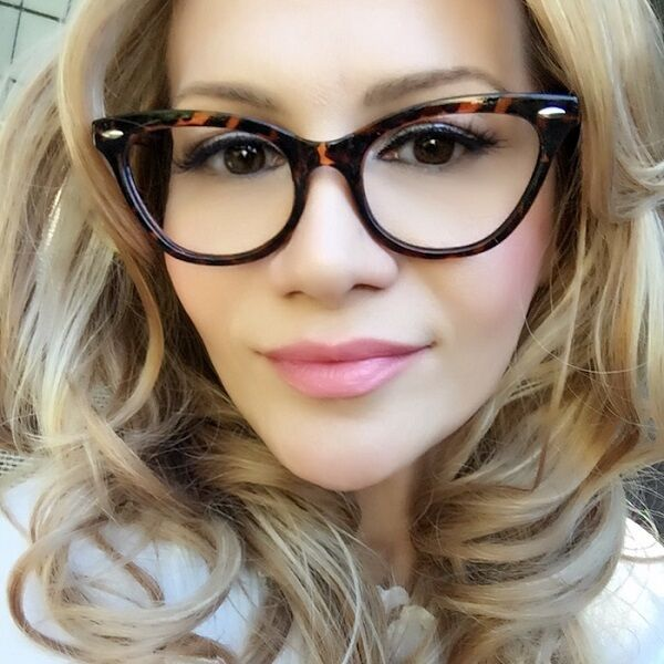 Cat Eye Specs For Round Face