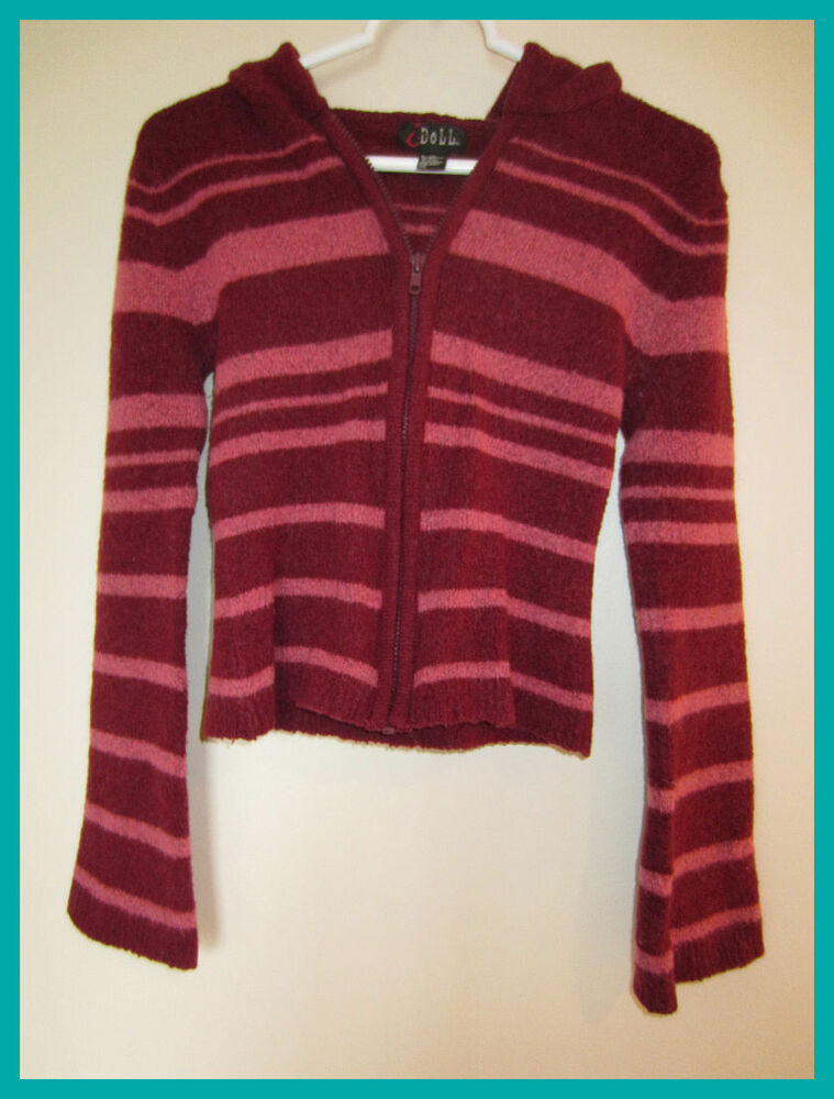 Phrase blue and burgundy striped mens sweaters you