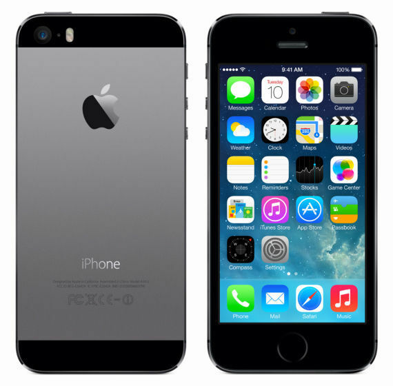 apple iphone 5s 32gb spacegrau simlockfrei ohne vertrag. Black Bedroom Furniture Sets. Home Design Ideas