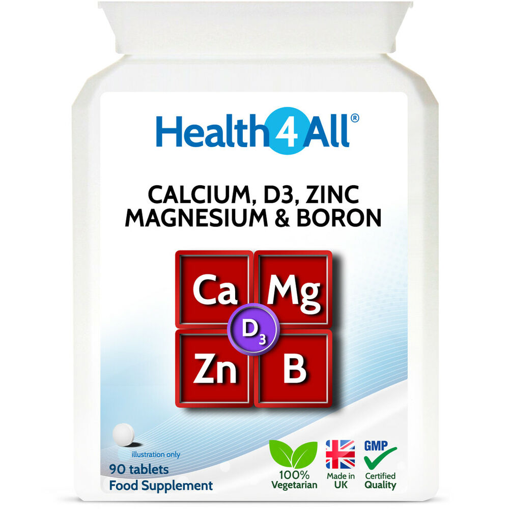 d3 calcium zinc magnesium boron tablets excellent combination of minerals ebay. Black Bedroom Furniture Sets. Home Design Ideas
