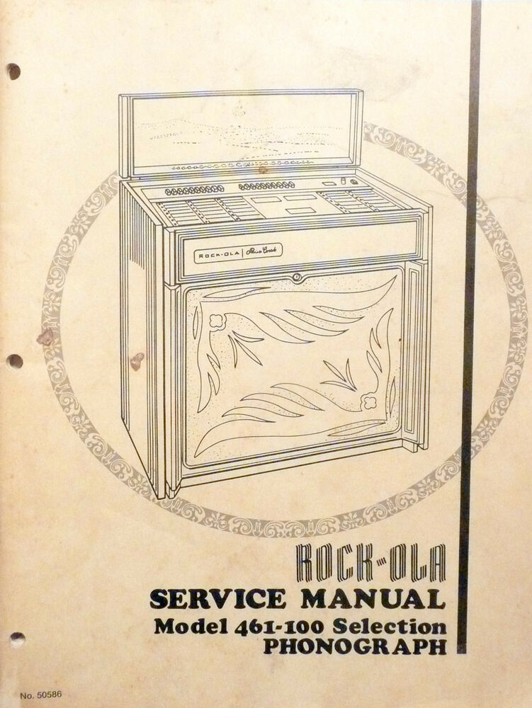 Rock ola 459 Service Manual
