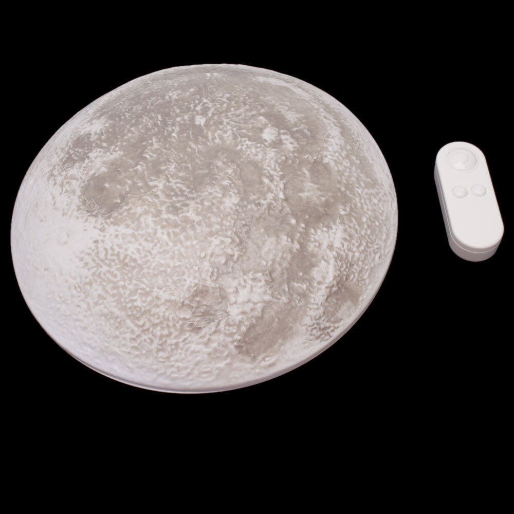 New Arrival Led Wall Night Light Healing Moon Lamp White