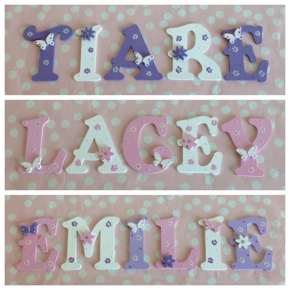 baby name letters ebay