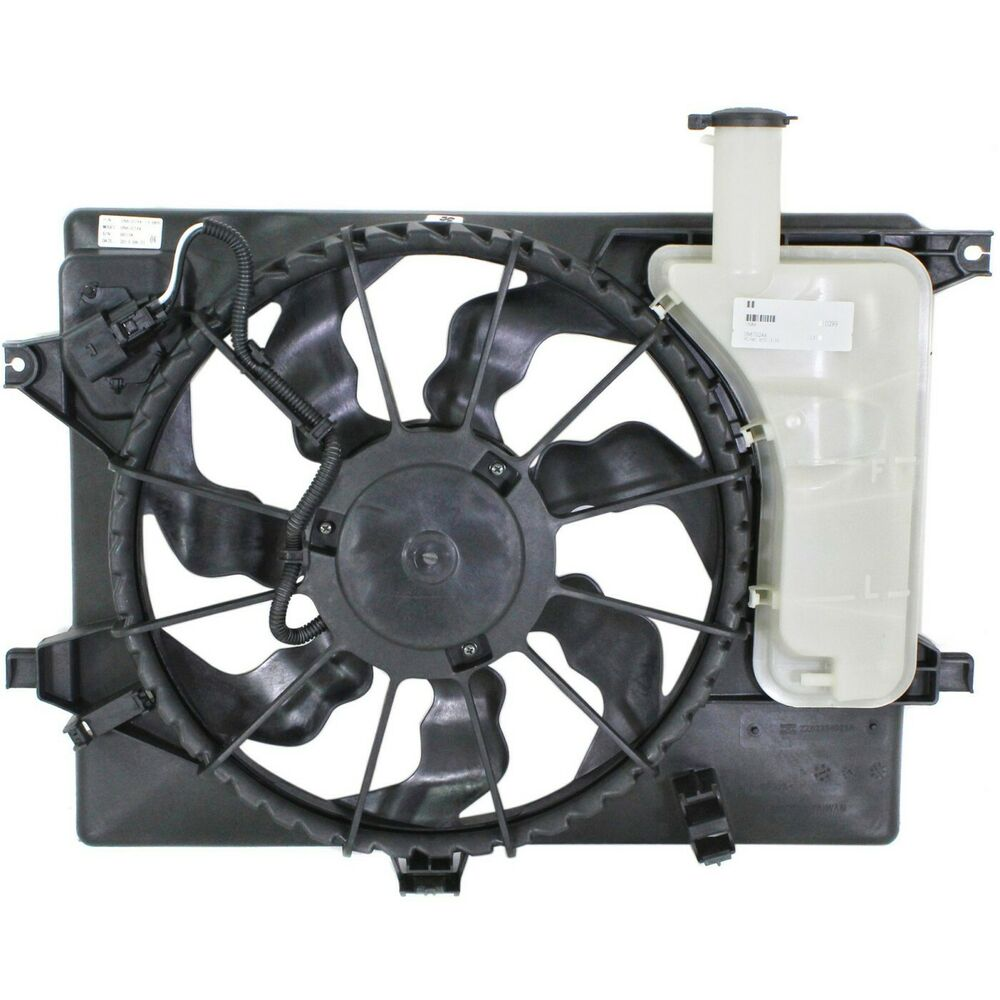 a c condenser cooling fan for 2011 2013 hyundai elantra 2014 kia forte 723650262924 ebay. Black Bedroom Furniture Sets. Home Design Ideas