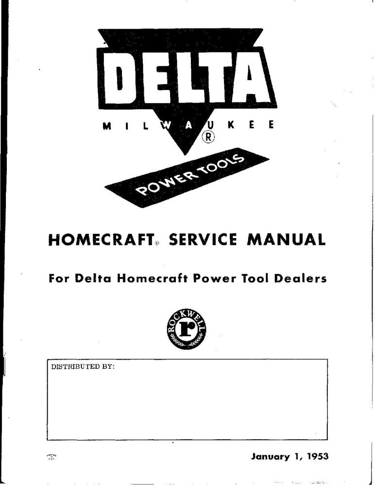 Rockwell Rs23160 Service Manual