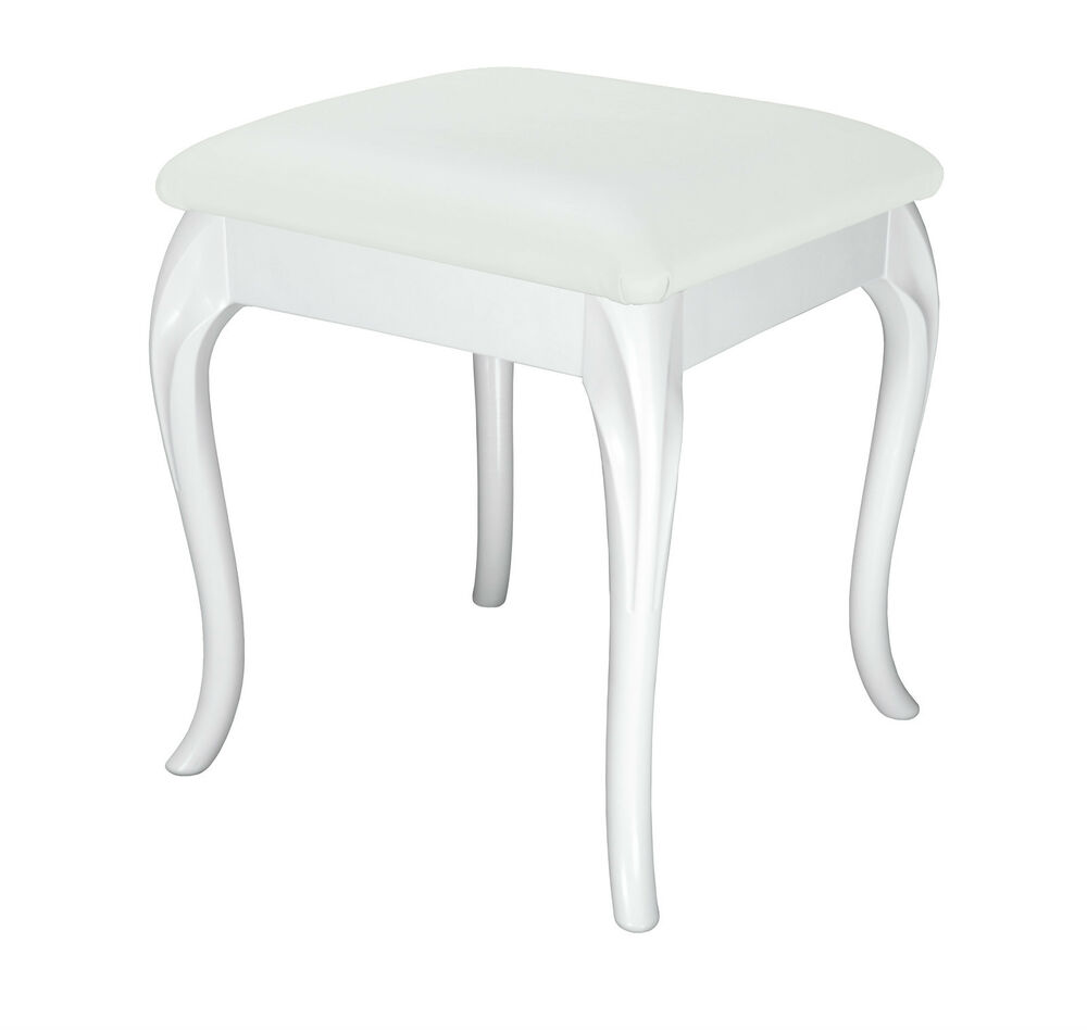 White Small Dressing Table Occasional Bedroom Foot