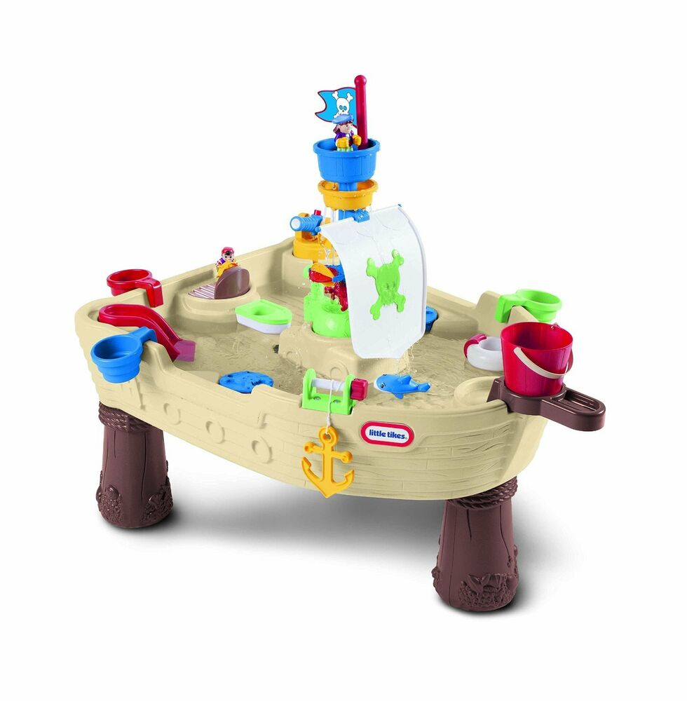 Outdoor Play Toys : New little tikes anchors away pirate ship water table