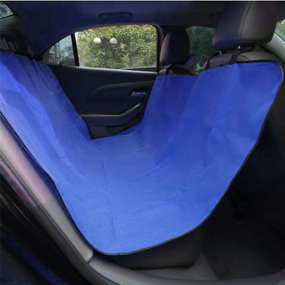 blue rear seat pet dog mat liner water resistant dust dirt protector for bmw e46 ebay. Black Bedroom Furniture Sets. Home Design Ideas
