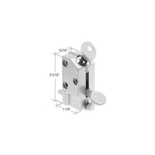 Crl Aluminum Keyed Step On Door Lock Patio Sliding Glass