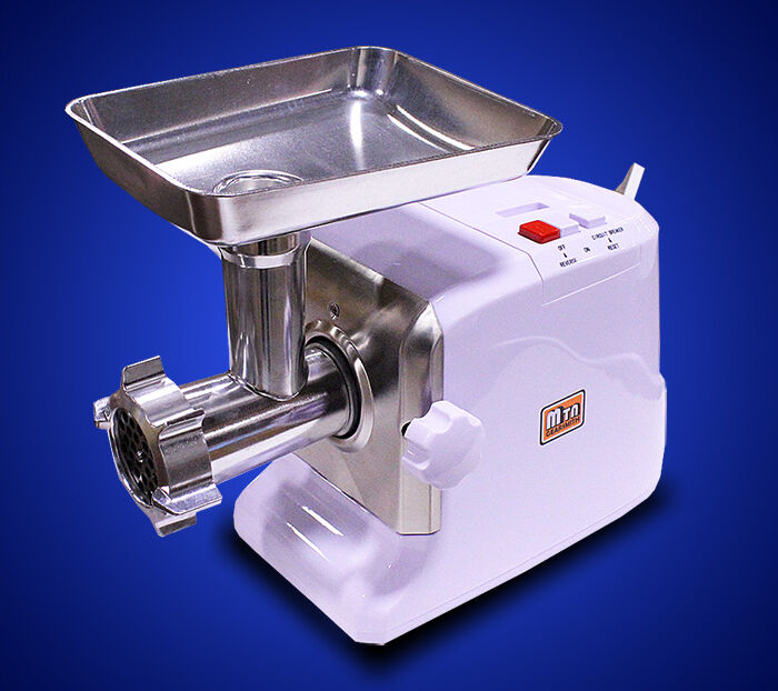 Electric Meat Grinders With Metal Gears ~ New mtn w power electric meat grinder sausage stuffer