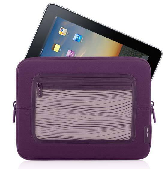 Belkin neoprene sleeve slip pouch case for ipad air 1 2 for Housse neoprene ipad air