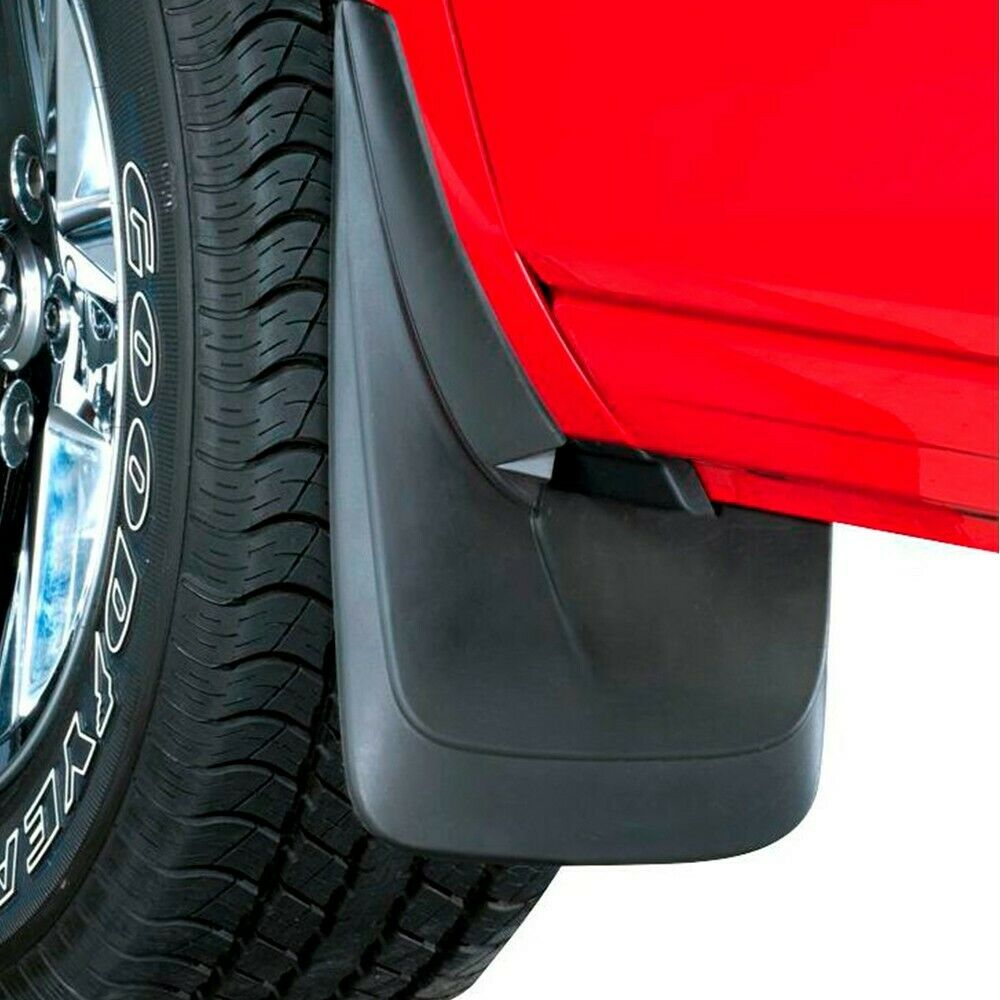 Power flow new mud flaps set of 2 front or rear mercedes for Mercedes benz ml350 mud flaps