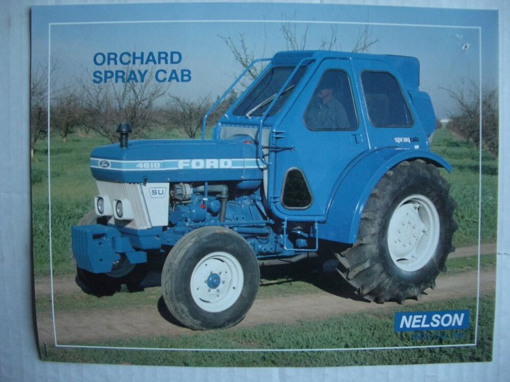 Ford Orchard Tractor : Vintage nelson orchard spray cab for ford tractor ebay