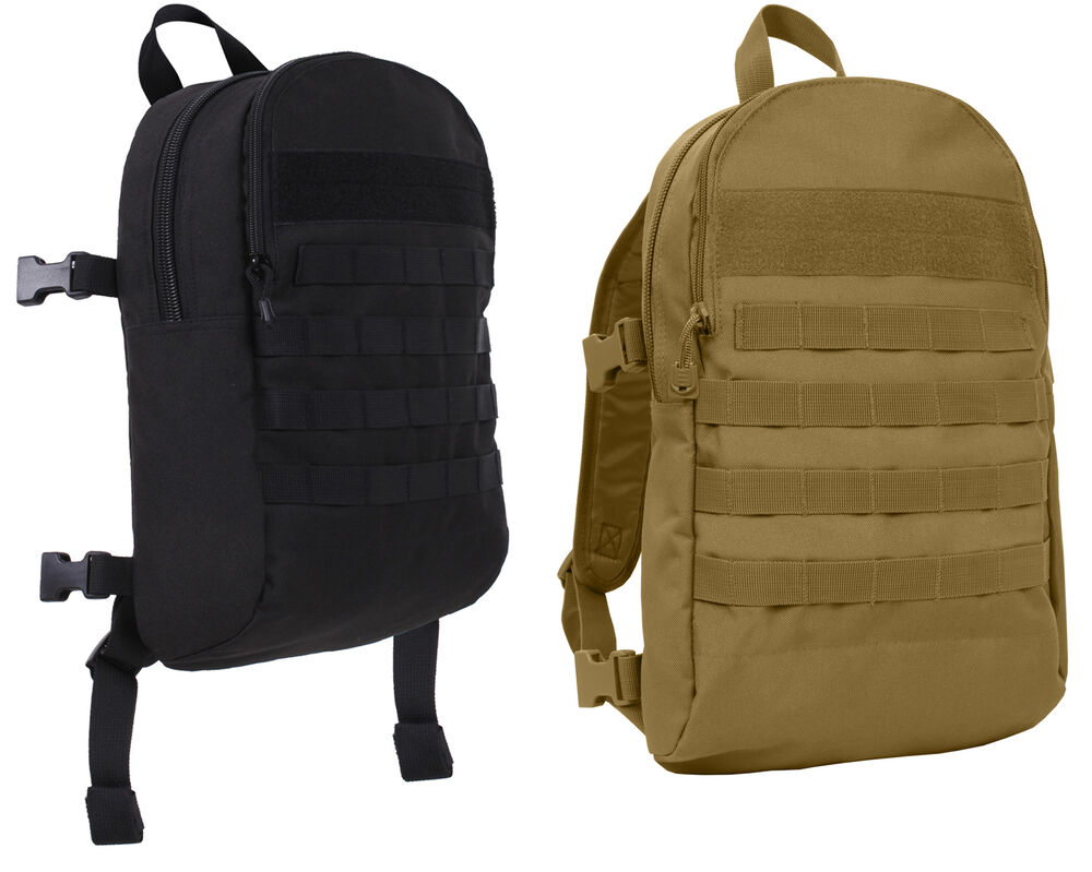 tactical pack clip on add on backpack connectable rothco ...