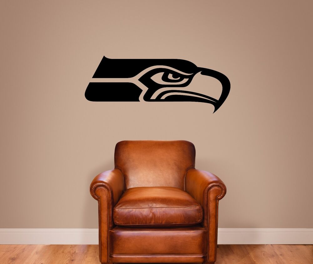 Seattle Seahawks Vinyl Wall Decal Graphic Sticker Large