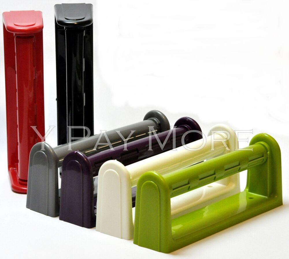 Lime Green Kitchen Roll Holder: MADE IN UK Kitchen Towel Paper Roll Holder Wall Mount