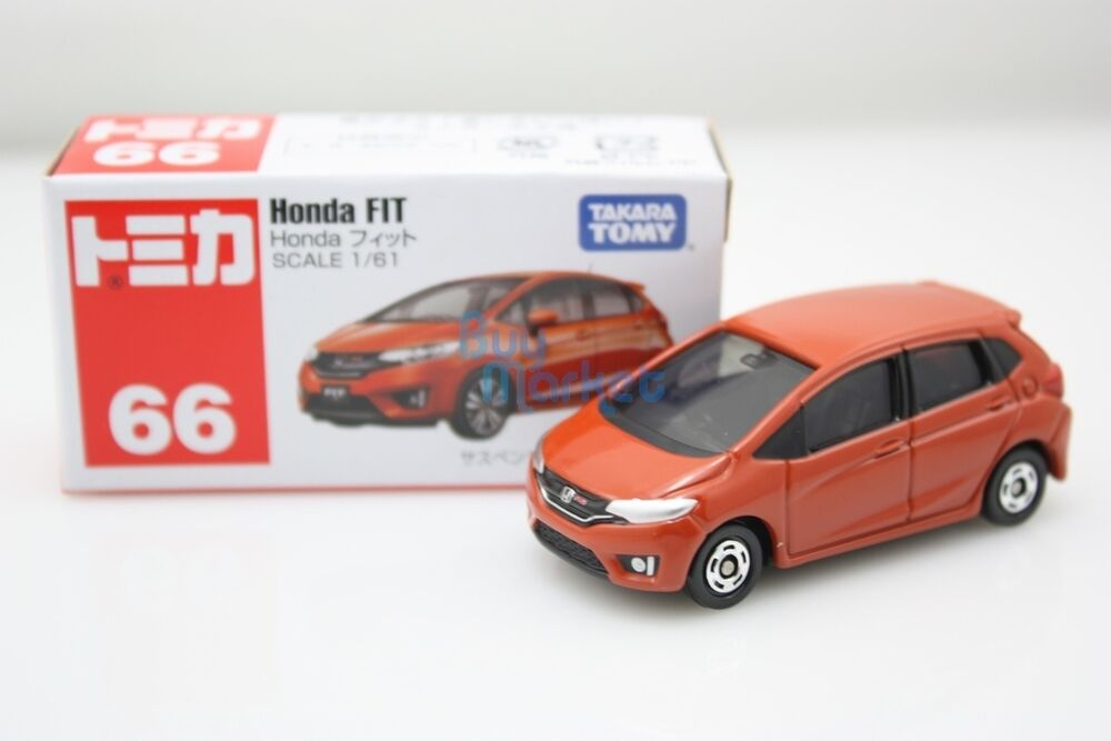 New Takara Tomy Tomica 66 Honda Fit Brown Scale 1 61 Diecast Toy Car 2015 Ebay