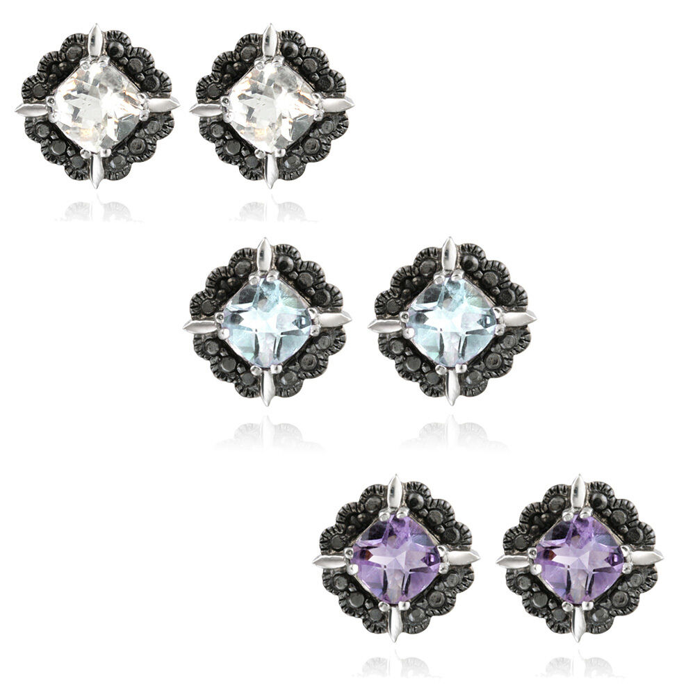Gemstone & Black Diamond Accent Stud Earrings  3 Colors. Tassel Necklace. Ladies Gold Chains. Sterling Silver Anklet Bracelets. Princess Cut Diamond Bracelet. Islamic Wedding Rings. Hexagon Wedding Rings. Group Necklace. Jewelry Beads Near Me