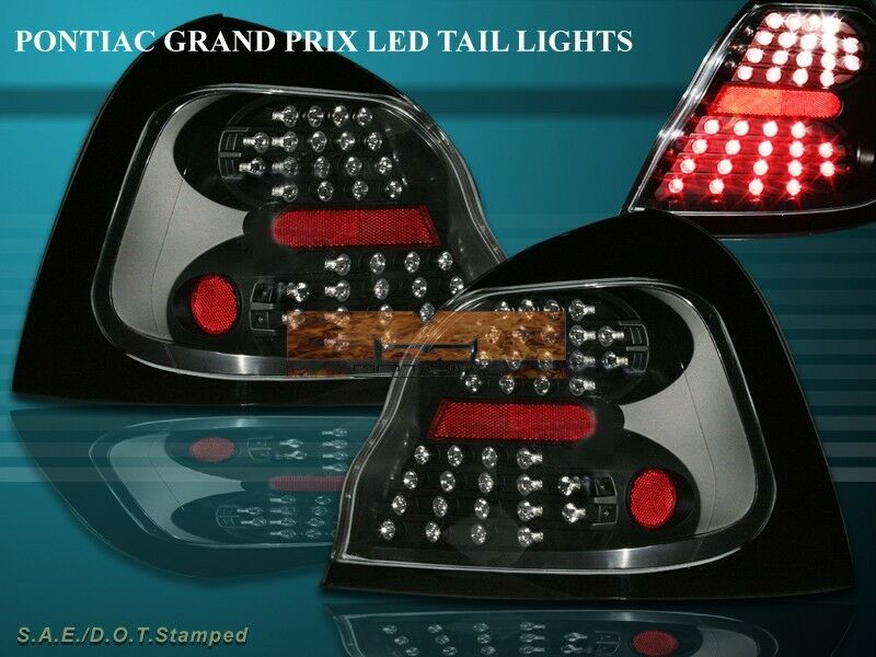 04 05 06 07 08 pontiac grand prix black led tail lights. Black Bedroom Furniture Sets. Home Design Ideas