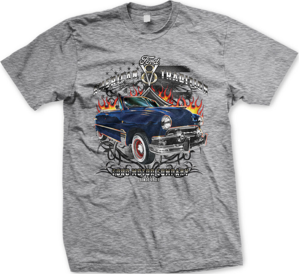 American tradition ford motor company 1903 v8 classic cars for All american classic shirt