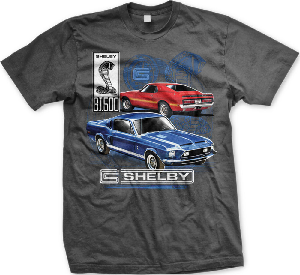 Gt 500 Shelby Cobra Mustang 1969 Classic Cars Ford Muscle