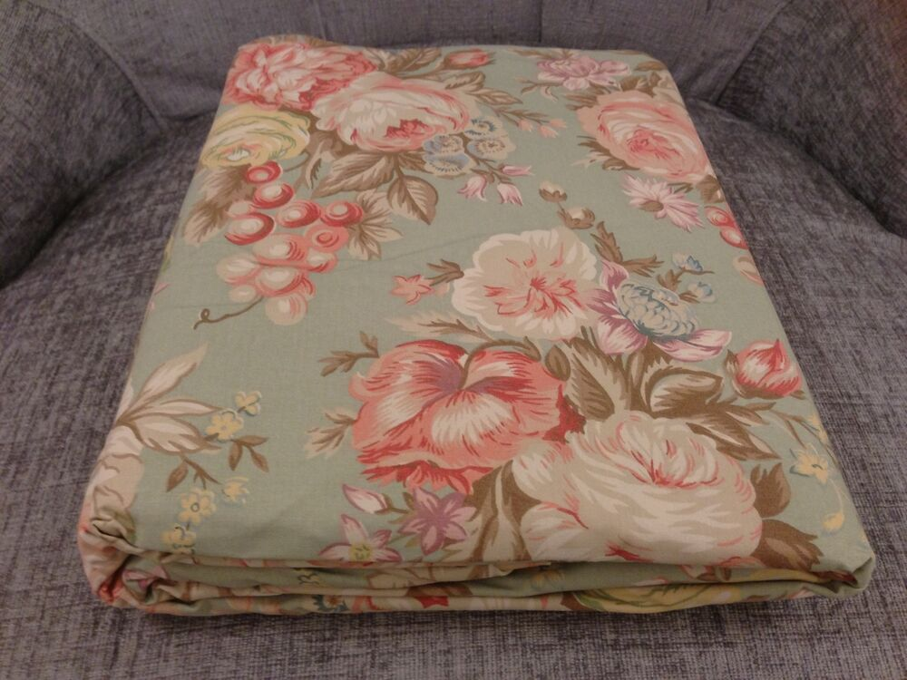 Ralph lauren charlotte iv floral 100 cotton shabby chic queen fitted