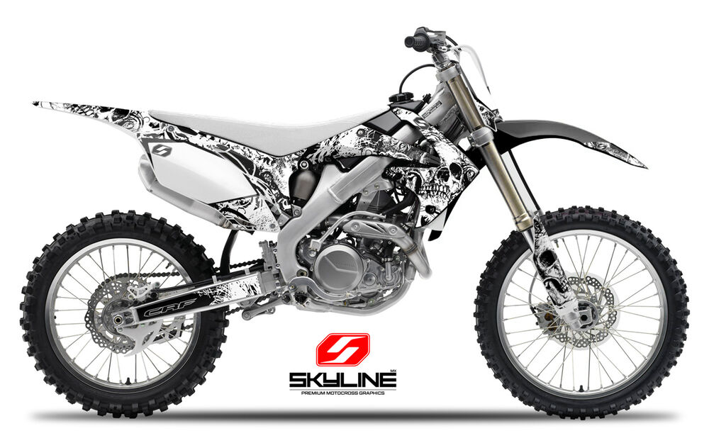 2008 honda crf 450 r dirt bike graphics kit crf450r
