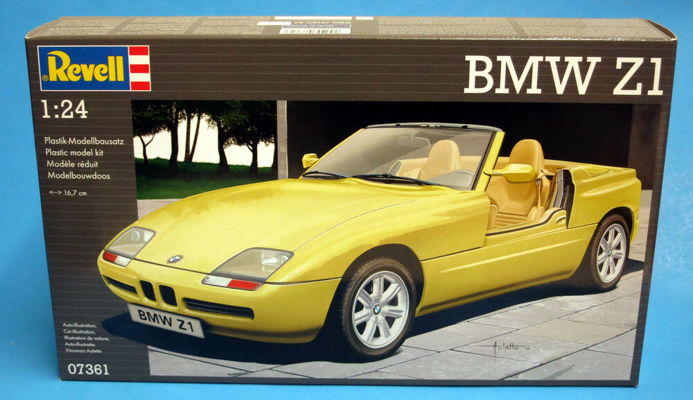 revell germany 1 24 bmw z1 plastic model kit 07361 ebay. Black Bedroom Furniture Sets. Home Design Ideas