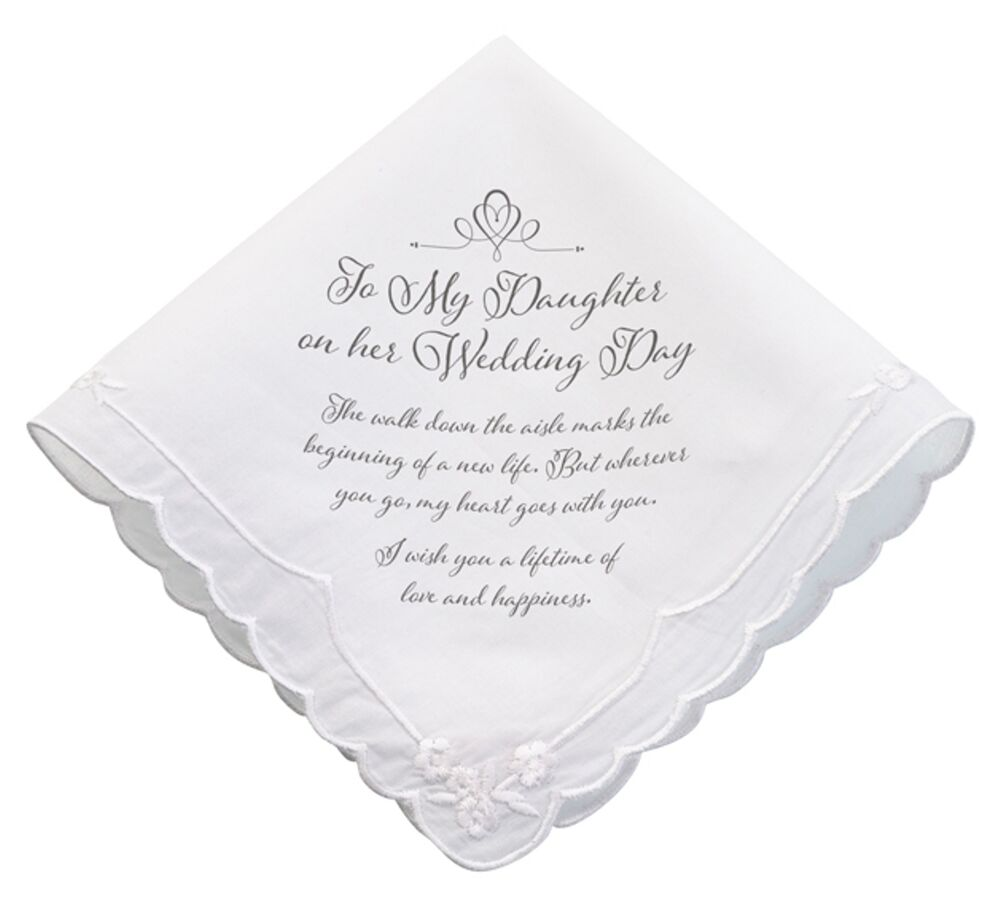Gift Ideas For Daughter On Her Wedding Day: TO MY DAUGHTER On Her Wedding Day Bridal Gift Keepsake
