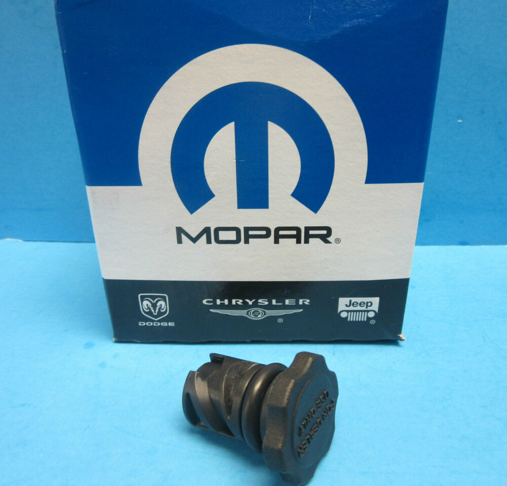 GENUINE MOPAR Transmission Oil Filler Cap OEM 4591959AA