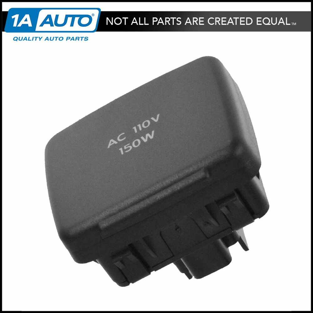 2011 F150 Accessories >> OEM BC3Z-19N236-A Auxiliary 110 Volt Power Outlet Socket for Ford Lincoln New | eBay