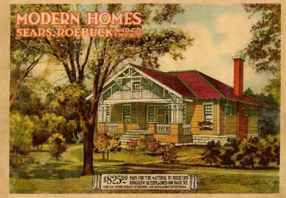 Sears honor bilt modern homes vintage catalogs on disk ebay for Catalog houses