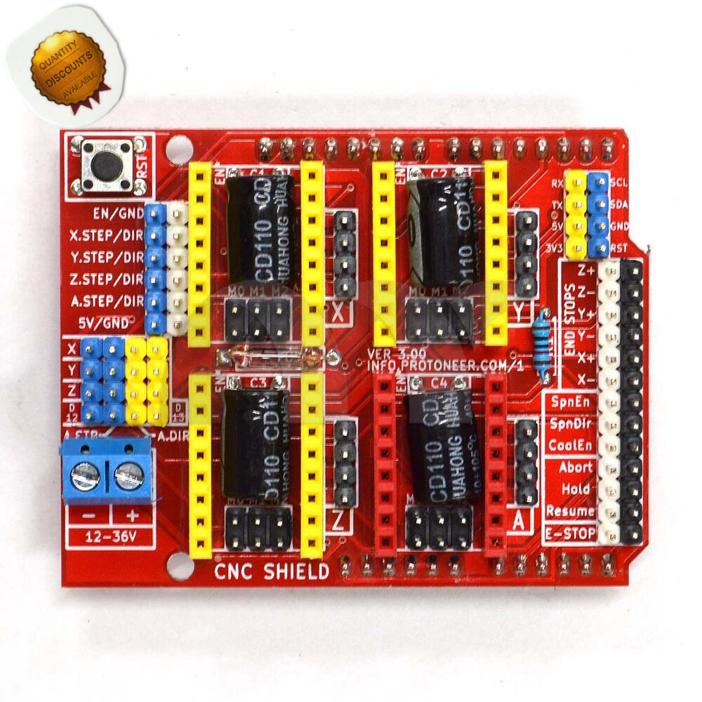 A driver cnc shield expansion board for arduino v