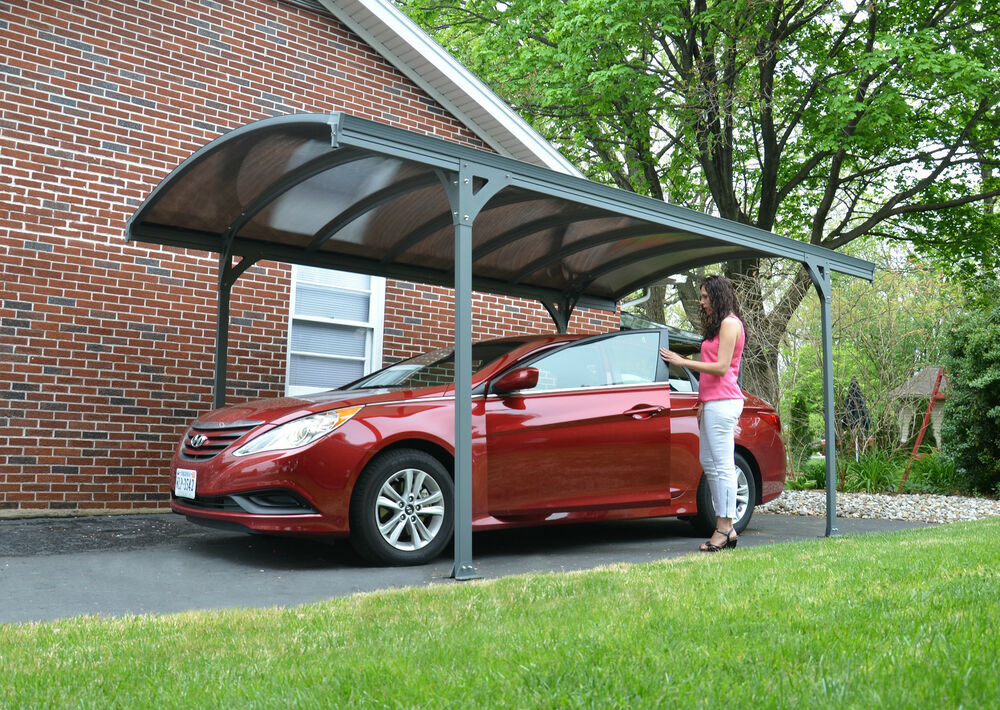 Carport diy kit shelter gazebo patio roof marquee vehicle