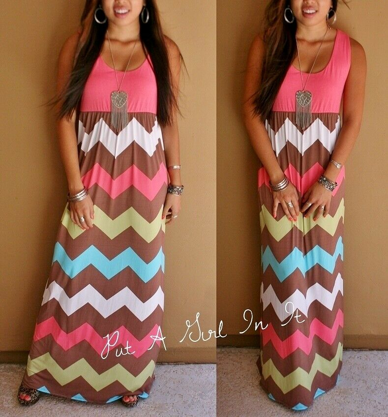 Shop for CLOUDY L Chevron Print Sleeveless Tank Maxi Dress online at $ and discover fashion at ciproprescription.ga Cheapest and Latest women & men fashion site including categories such as dresses, shoes, bags and jewelry with free shipping all over the world.