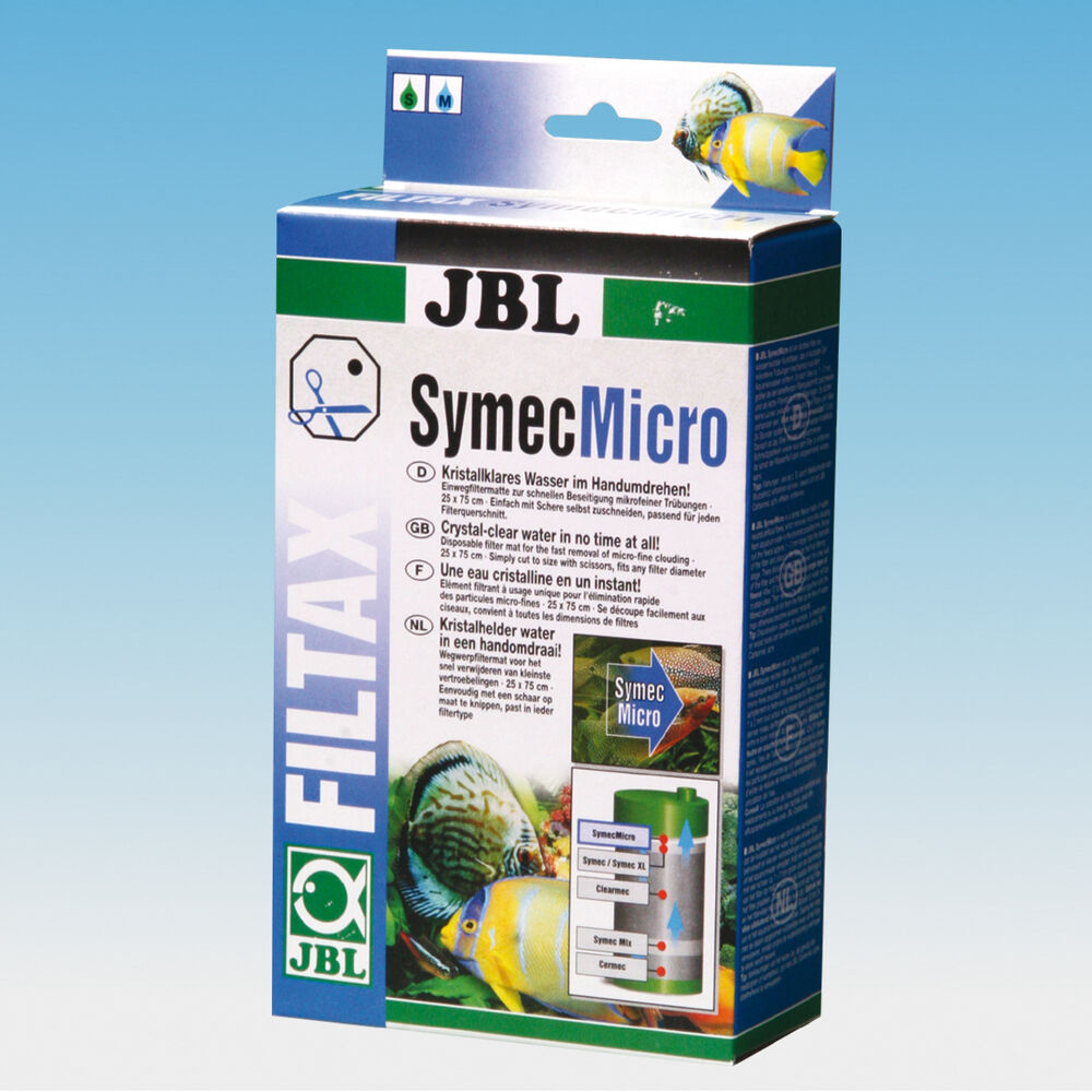 Jbl symecmicro diatom fine filter mat fish tank wool for Micro fish tank