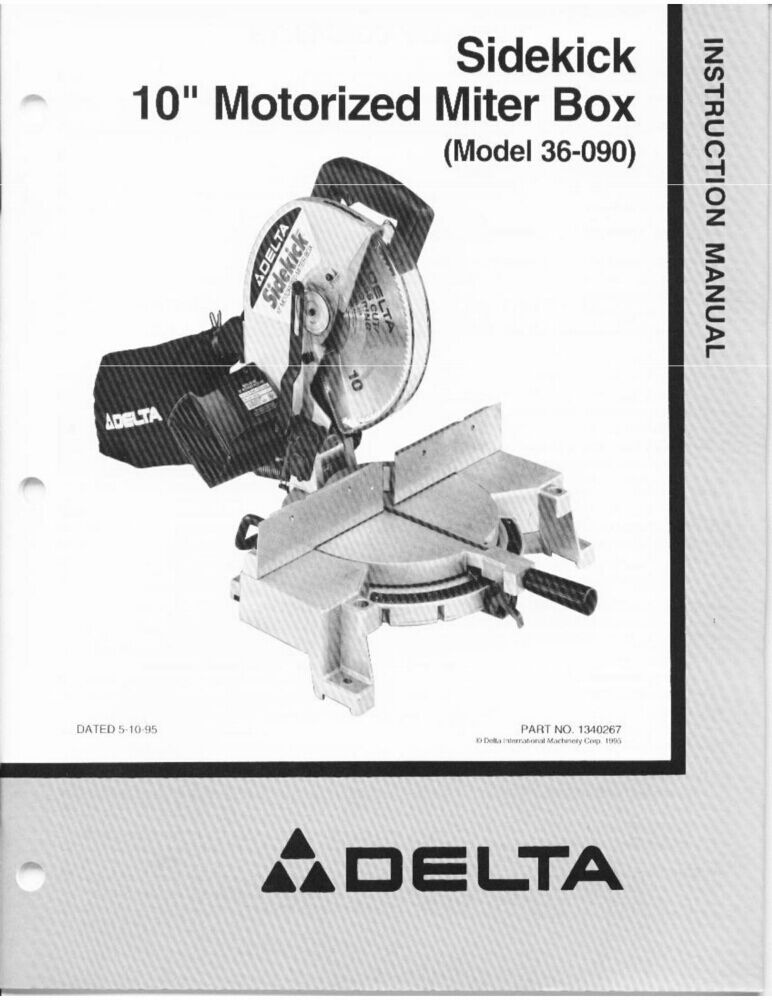 tool shop miter saw manual