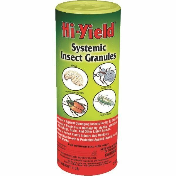 12 Pk Hi-Yield 1 Lb Systemic Insecticide Plant Insect Bug ... Insecticide For Plants